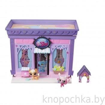 Игровой набор Littlest Pet Shop Стильный зоомагазин