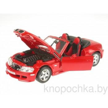 Коллекционная модель BMW Z3 M Roadster Bburago 1:24