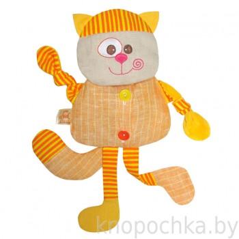 Игрушка грелка с вишневыми косточками Котик