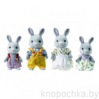 Семья серых кроликов Sylvanian Families 3134