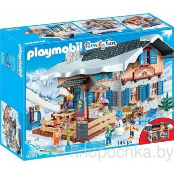 Конструктор Playmobil 9280 Лыжная база
