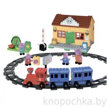 Конструктор Peppa Pig - Железнодорожная станция Свинки Пеппы