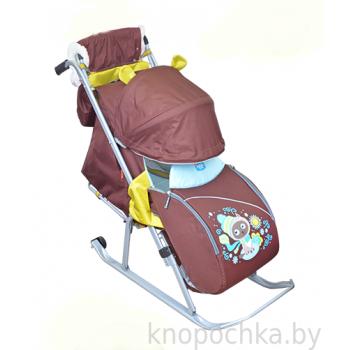 Санки-коляска складные Ника Детям 5