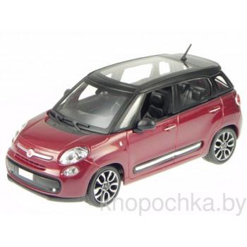 Коллекционная машинка Fiat 500L 1:24 Bburago 18-22126