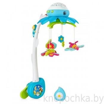 Музыкальный мобиль с проектором Smoby Cotoons (голубой)
