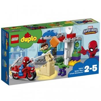 Lego Duplo 10876 Приключения Человека-паука и Халка
