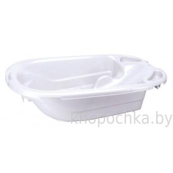 Ванночка детская с горкой и сливом Универсальная Пластишка