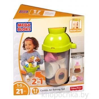 Развивающая игрушка Веселая пекарня Mega Bloks