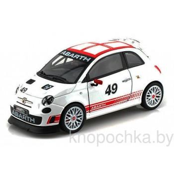 Коллекционная машинка Fiat Abarth Bburago 1:24
