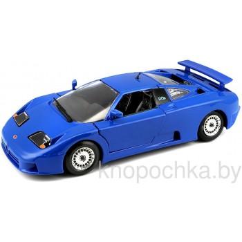 Коллекционная модель Bugatti EB 110 Bburago 1:24