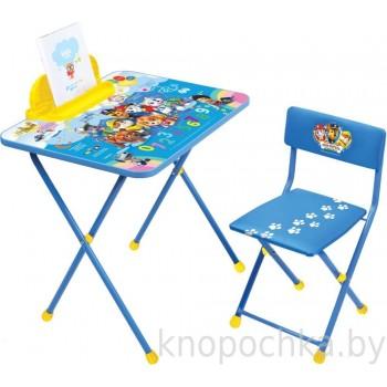 Детский столик и стульчик Щенячий патруль Ника Щ1