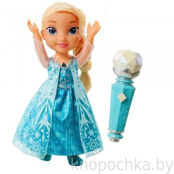 Кукла Холодное Сердце Эльза поющая с микрофоном