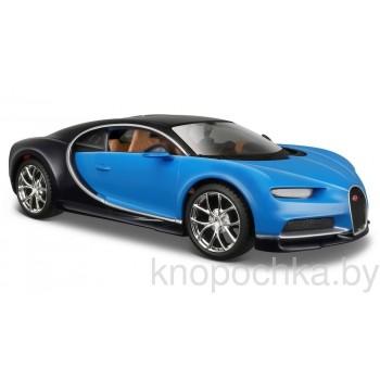 Модель автомобиля Bugatti Chiron 1:24 Maisto 31514