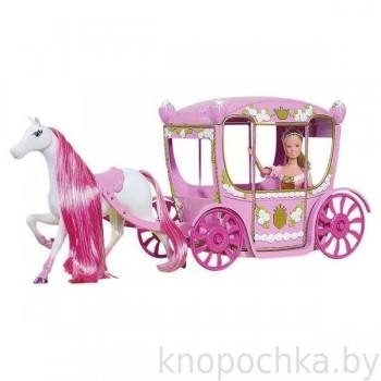 Кукла Штеффи в сказочной карете Simba