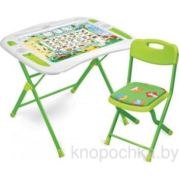 Детский столик и стульчик Ника NKP1/5 Веселая азбука