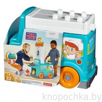 Игровой набор Продуктовый фургон Mega Bloks
