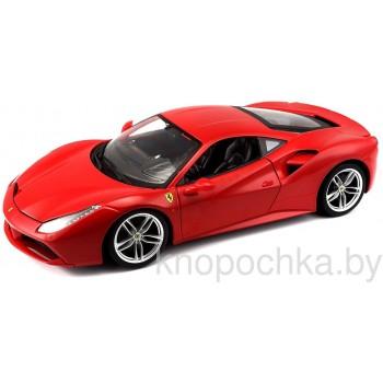 Коллекционная модель автомобиля Ferrari 488 GTB 1:18