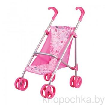 Коляска-трость для кукол Gulliver 22-11005 (розовая)