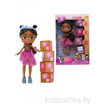Кукла Boxy Girls Номи с покупками, 20 см