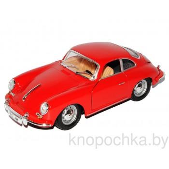Коллекционная машинка Porsche 356B Coupe Bburago 1:24