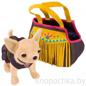 Собачка Chi Chi Love Индийский стиль с сумкой, 20 см