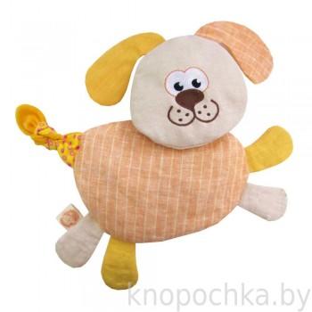 Игрушка грелка с вишневыми косточками Собачка