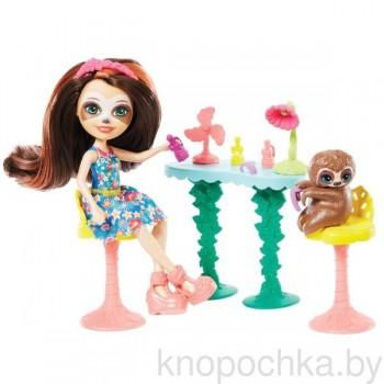 Набор Энчантималс Маникюрный салон с куклой Сэла Ленни