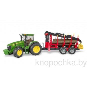 Игрушка Брудер Трактор John Deere Bruder 03054