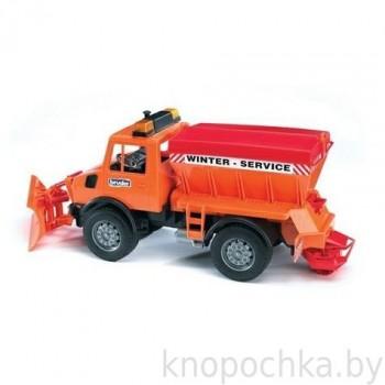 Игрушка Брудер Снегоуборочная машина MB Bruder 02572