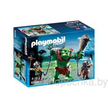 Плеймобил Рыцари: Гигантский тролль и боевые гномы Playmobil 6004
