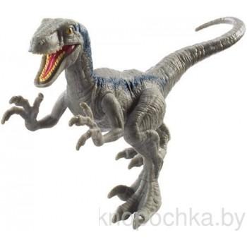 Фигурка динозавра Велоцираптор Блю Jurassic World Mattel