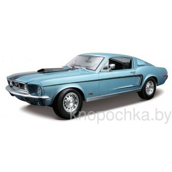 Модель автомобиля Ford Mustang GT Cobra Jet 1968 1:18 Maisto