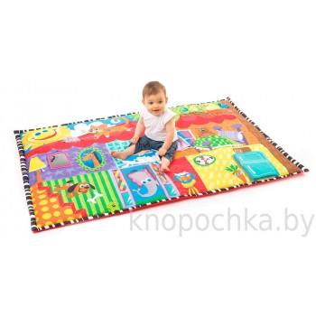 Развивающий коврик Веселый дом PlayGro