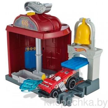 Игровой набор Hot Wheels Сити Пожарная станция FRH29