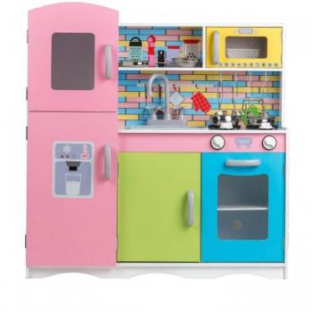 Деревянная детская кухня Eco Toys TK038