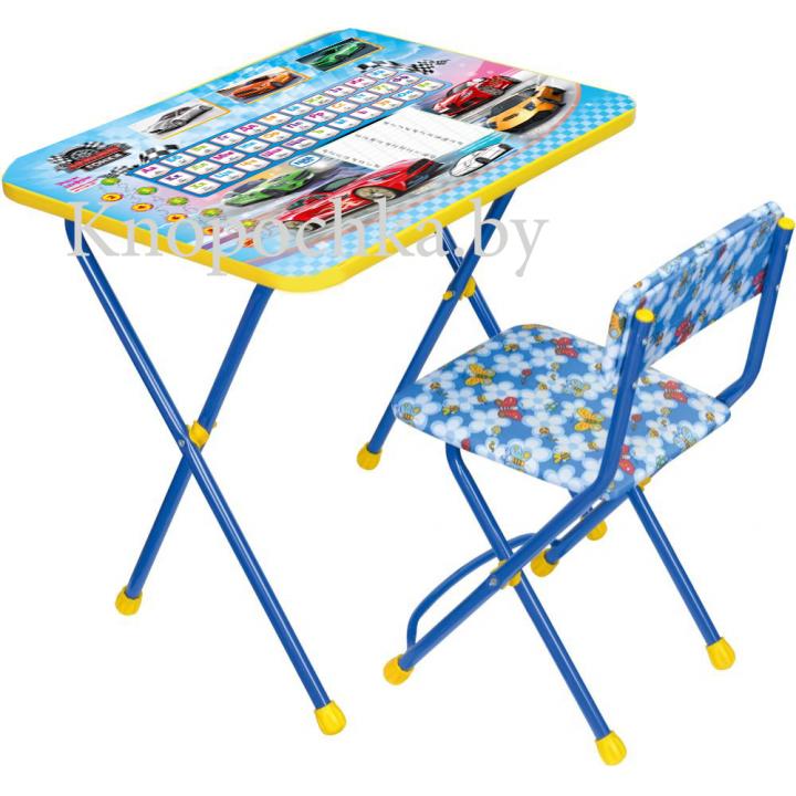 Детский столик и стульчик Ника КП2/15 Большие гонки