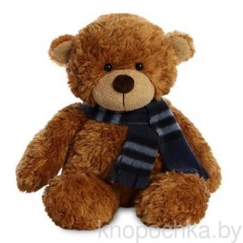 Мягкая игрушка Aurora Медвежонок с шарфиком, 25 см