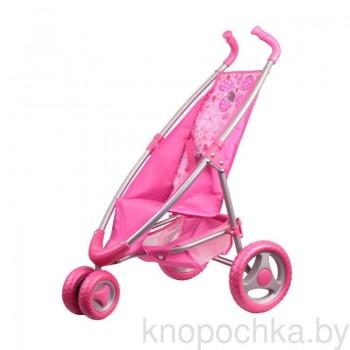 Коляска для кукол прогулочная Gulliver 22-12042 (розовая)