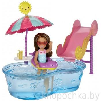 Набор Barbie Бассейн Челси DWJ47