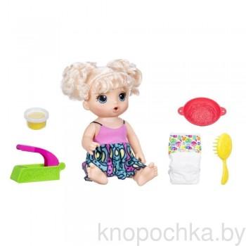 Кукла Baby Alive Малышка и лапша Hasbro