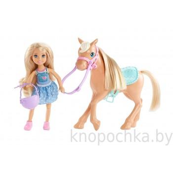 Кукла Челси и пони Barbie DYL42