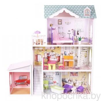 Кукольный домик с гаражом Beverly Hills EcoToys