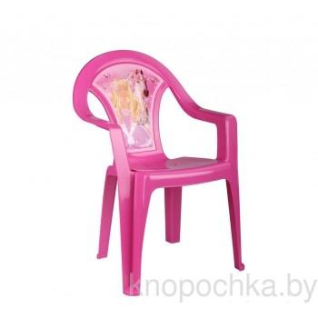 Пластиковый детский стульчик Принцесса