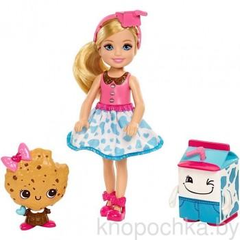 Набор Barbie кукла Челси и сладости FDJ11