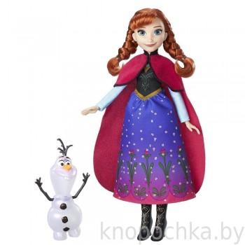 Кукла Анна с Олафом