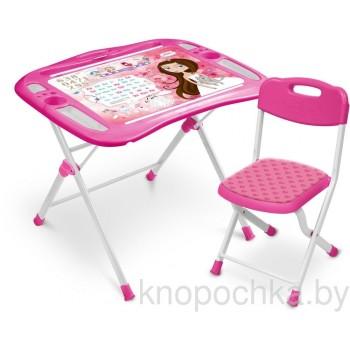 Детский столик и стульчик Ника NKP1/3 Маленькая принцесса