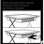 Детский столик и стульчик Ника КУ2П с большим пеналом Большие гонки