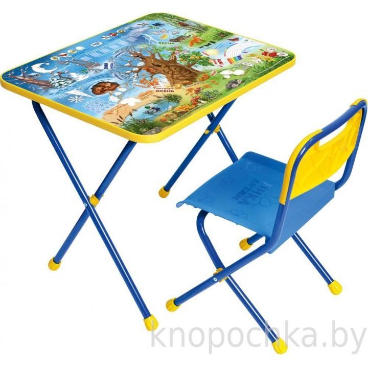 Детский столик и стульчик Ника КП Хочу все знать