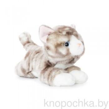 Мягкая игрушка Aurora Полосатый котик, 28 см