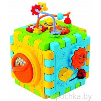 Развивающая игрушка Куб-конструктор PlayGo